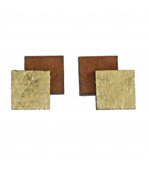 MJVR leder bruin/zwart
