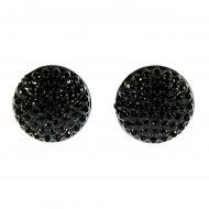 oorsteker zwart kleine bolletjes