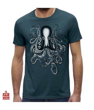 eco T-shirt octopus