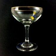 VINTAGE BABYCHAM GLAS